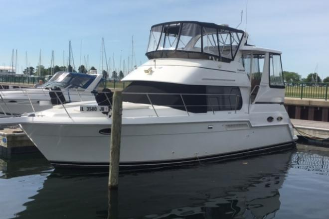 2003 Carver 356 AFT CABIN - For Sale at Winthrop Harbor, IL 60096 - ID 109685