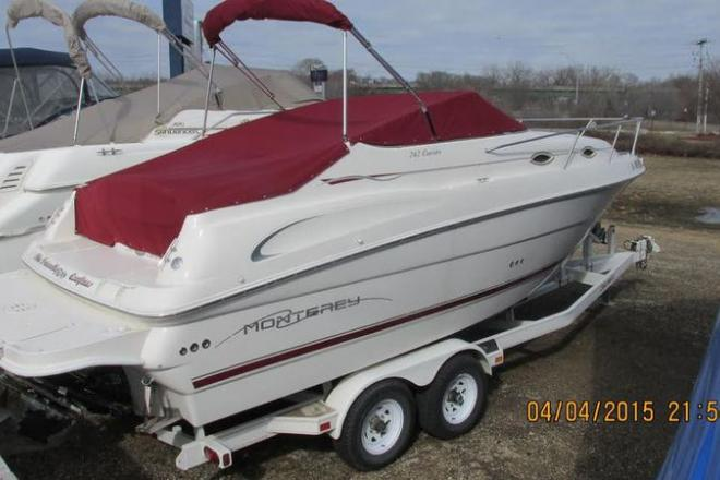 2001 Monterey 242 - For Sale at Dubuque, IA 52001 - ID 109888
