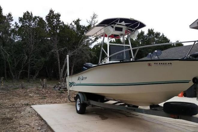 2001 Key Largo 190CC - For Sale at Bandera, TX 78003 - ID 110085