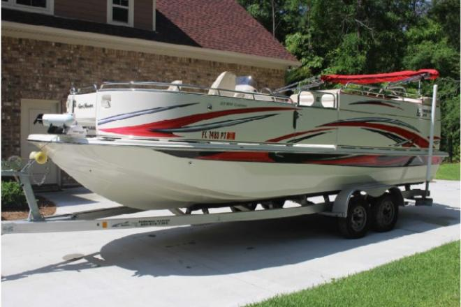 2014 Carolina Skiff (Like New! 41 Hours!) - For Sale at Perry, FL 32347 - ID 110368