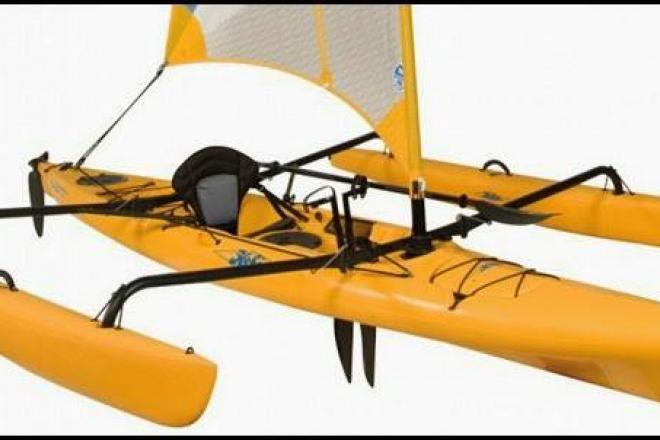 2010 Hobie Mirage Adventure Island Kayak - For Sale at Lake Ozark, MO 65049 - ID 110925
