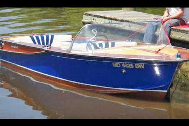 1962 Correct Craft Restored - For Sale at Annapolis, MD 21403 - ID 110981