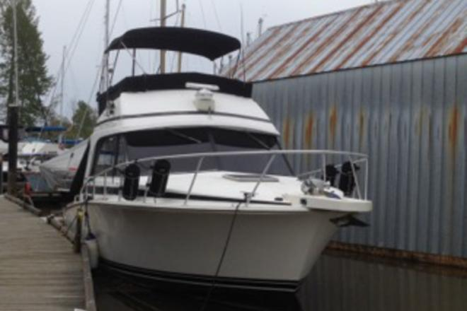 1991 Bertram Flybridge Convertible - For Sale at Blaine, WA 98230 - ID 111041