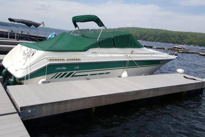 1990 Sea Ray Weekender - For Sale at Greentown, PA 18426 - ID 111043
