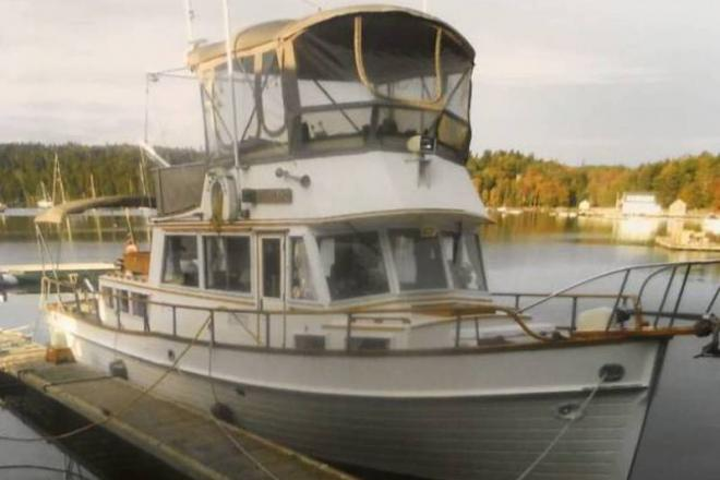 1980 Grand Banks Classic - For Sale at Hampden, ME 4444 - ID 111077