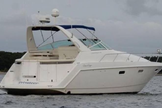 """1997 Chris Craft 380 Continental """"B"""" Sport - For Sale at Portland, CT 6480 - ID 111186"""