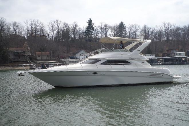 2004 Sea Ray 450 Express Bridge - For Sale at Osage Beach, MO 65065 - ID 113289