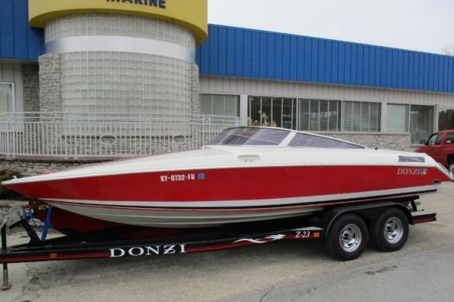 1989 donzi z23 23 foot 1989 high performance motor boat for Somerset motors somerset ky