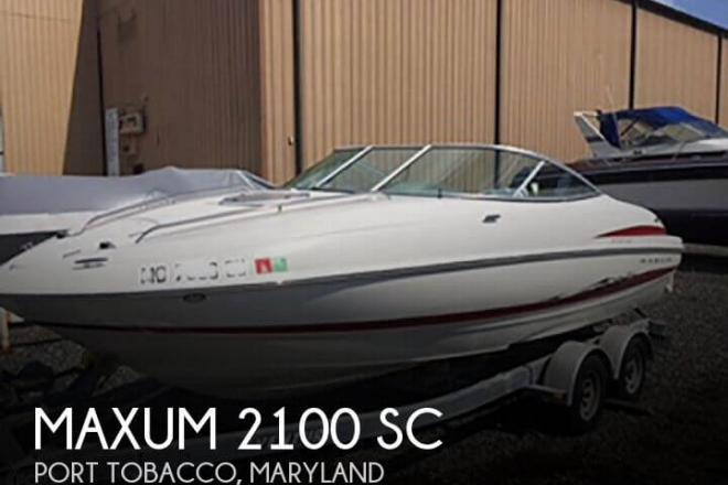 2005 Maxum 2100 SC - For Sale at Edgewater, MD 21037 - ID 112211