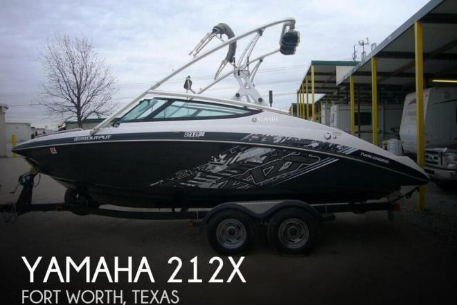 2012 Yamaha 212X - For Sale at Fort Worth, TX 76112 - ID 111521