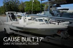 2012 Gause Built 17 Flats Skiff