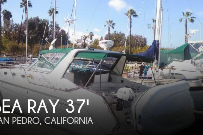 1994 Sea Ray 370 Express Cruiser - For Sale at San Pedro, CA 90731 - ID 111240