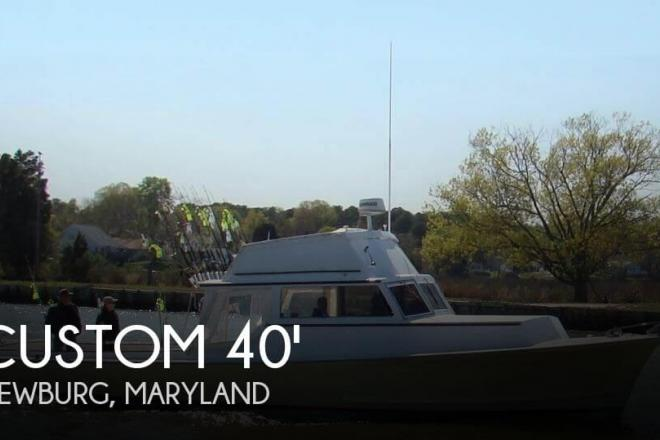 1972 Custom Built Robbins Baybuilt 40 - For Sale at Newburg, MD 20664 - ID 111154