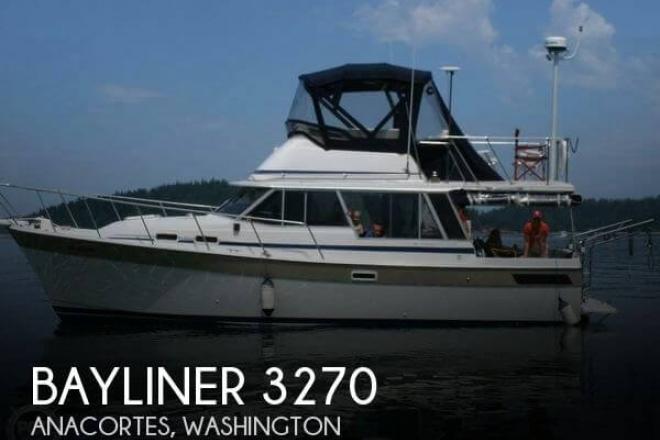 1983 Bayliner 3270 - For Sale at Anacortes, WA 98221 - ID 111080