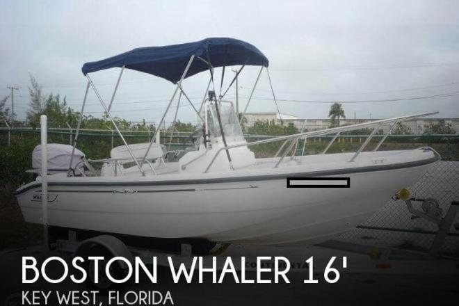 2001 Boston Whaler 16 Dauntless - For Sale at Key West, FL 33040 - ID 111354