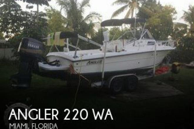 2002 Angler 220 WA - For Sale at Miami, FL 33177 - ID 111273