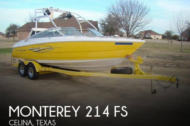 2006 Monterey 214 FS - For Sale at Celina, TX 75009 - ID 110927