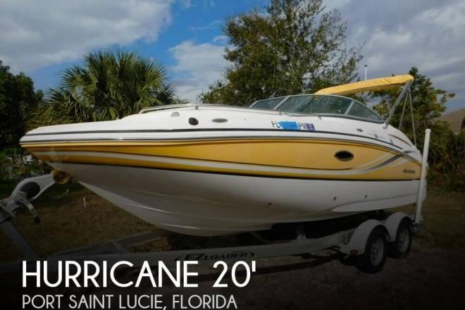 2013 Hurricane 2000 Sundeck - For Sale at Port Saint Lucie, FL 34953 - ID 110938