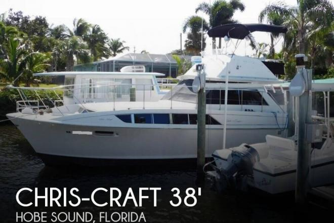 1970 Chris Craft 38 Commander - For Sale at Hobe Sound, FL 33455 - ID 109764