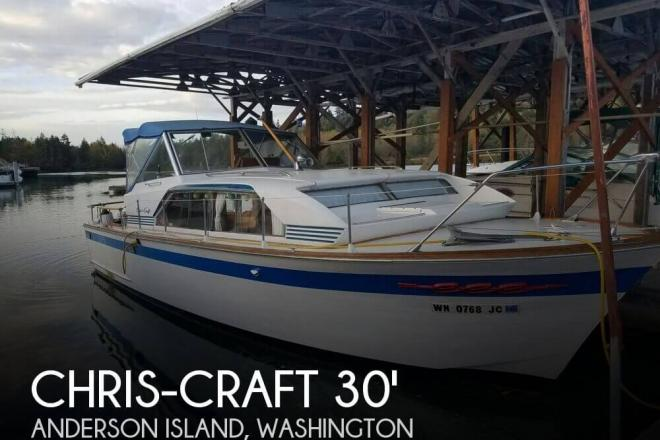 1963 Chris Craft Constellation - For Sale at Anderson Island, WA 98303 - ID 109616