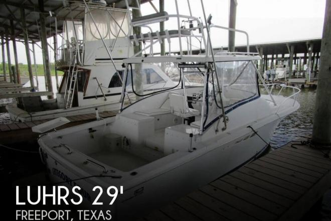 1998 Luhrs 290 Open Sportfisher - For Sale at Freeport, TX 77541 - ID 100973