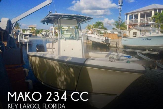 2008 Mako 234 CC - For Sale at Key Largo, FL 33037 - ID 100345