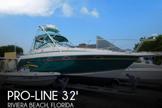 1998 Pro Line 3250 Express - For Sale at North Palm Beach, FL 33408 - ID 102408