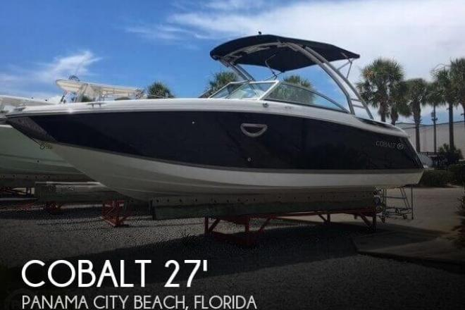 2012 cobalt 26 sport deck 26 foot 2012 motor boat in for Used boat motors panama city fl