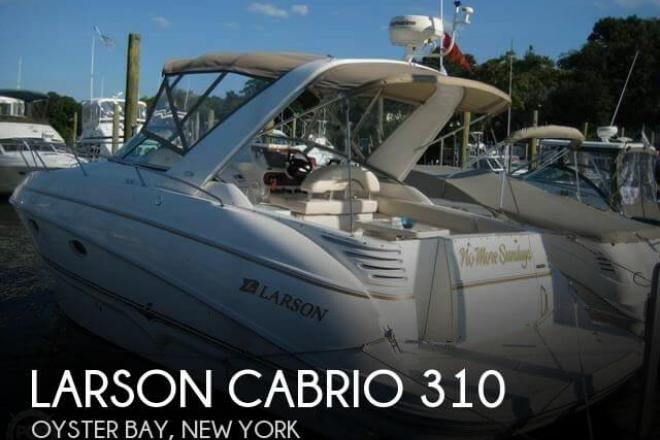 2004 Larson Cabrio 310 - For Sale at Oyster Bay, NY 11771 - ID 98380