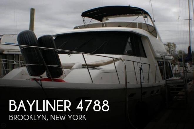 1995 Bayliner 4788 - For Sale at Brooklyn, NY 11201 - ID 98918