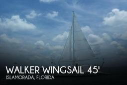 1995 Walker Wingsail 45 converted to Carbospars Aerorig