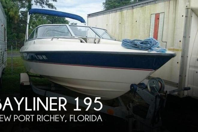 2005 Bayliner 195 - For Sale at New Port Richey, FL 34652 - ID 97952