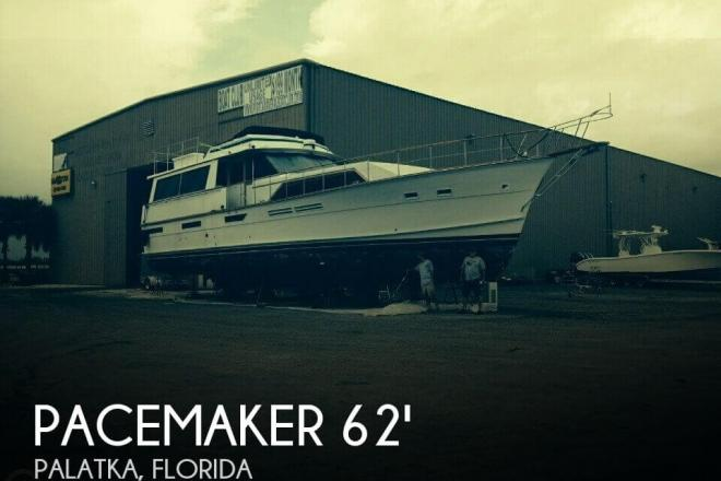 1976 Pacemaker 62 Motor Yacht - For Sale at Palatka, FL 32177 - ID 97383