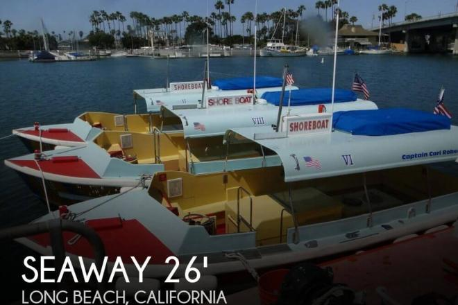 1975 Seaway Boats Company Custom 26' Water Taxi - For Sale at Long Beach, CA 90801 - ID 97083