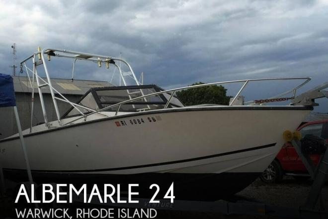 1982 Albemarle 24 - For Sale at Warwick, RI 2886 - ID 99286