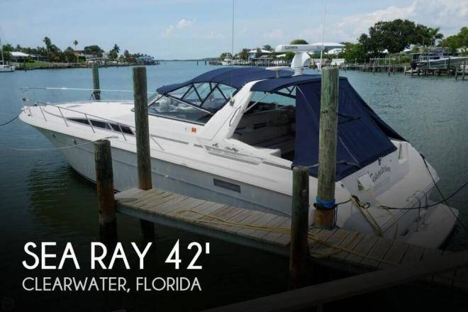 1991 Sea Ray 420 Sundancer - For Sale at Clearwater, FL 33755 - ID 96599