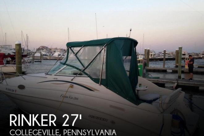 1998 Rinker 266 Fiesta Vee - For Sale at Collegeville, PA 19426 - ID 98721