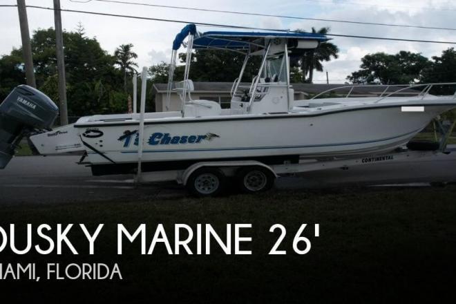 1995 Dusky 256 Fisherman's Cuddy Center Console - For Sale at Miami, FL 33177 - ID 96329
