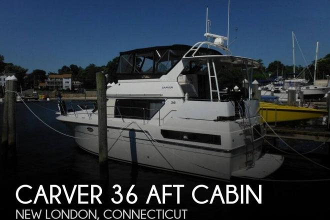 1991 Carver 36 Aft Cabin - For Sale at New London, CT 6320 - ID 98191