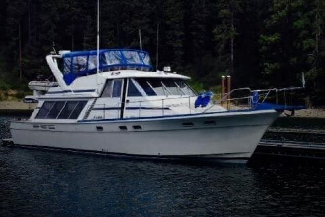 1986 Bayliner 4550 Motoryacht - For Sale at Bayview, ID 83803 - ID 96601
