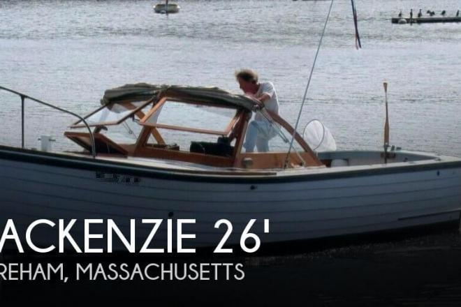 1967 Mackenzie 26 Cuttyhunk - For Sale at Wareham, MA 2571 - ID 95463
