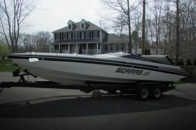 1988 Scarab 28 - For Sale at Tiverton, RI 2878 - ID 98652