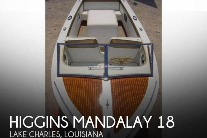 1962 Higgins Mandalay 18 - For Sale at Lake Charles, LA 70601 - ID 94835
