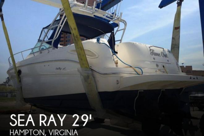 2001 Sea Ray 290 Amberjack - For Sale at Hampton, VA 23630 - ID 94562