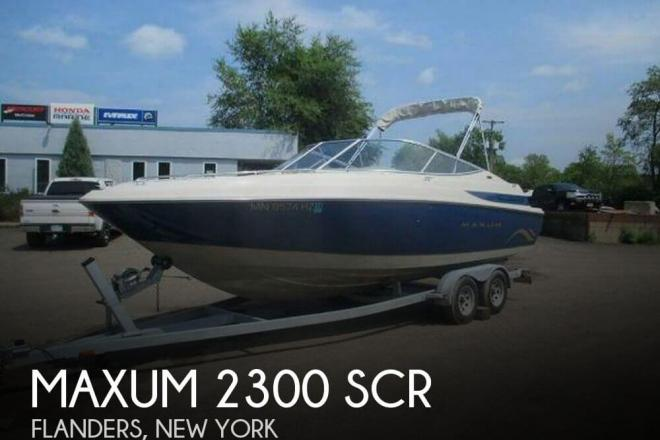 2001 Maxum 2300 SR - For Sale at Flanders, NY 11901 - ID 94371