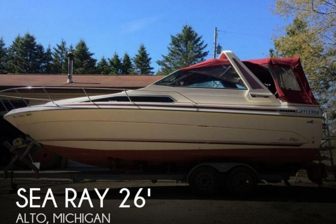 1988 Sea Ray 268 Sundancer - For Sale at Alto, MI 49302 - ID 95413