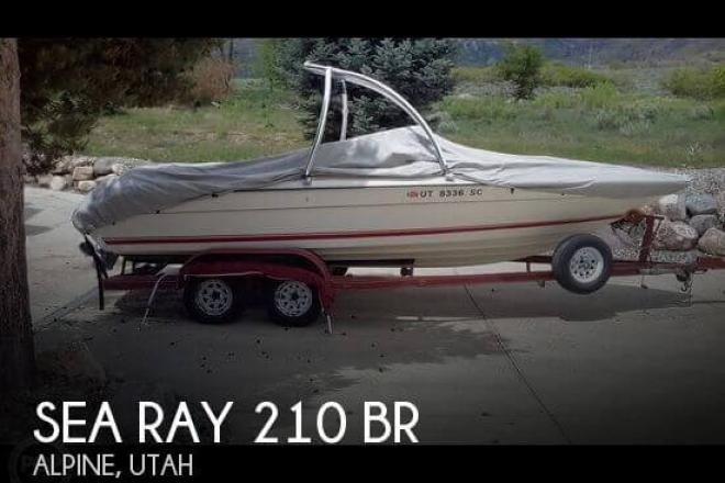 1989 Sea Ray 210 BR - For Sale at Alpine, UT 84004 - ID 95414