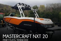 2015 Mastercraft NXT 20