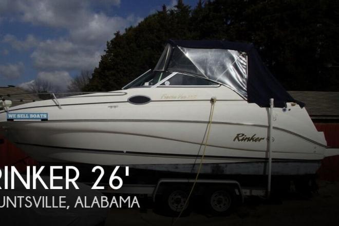 2001 Rinker Fiesta Vee 242 - For Sale at Huntsville, AL 35801 - ID 93861