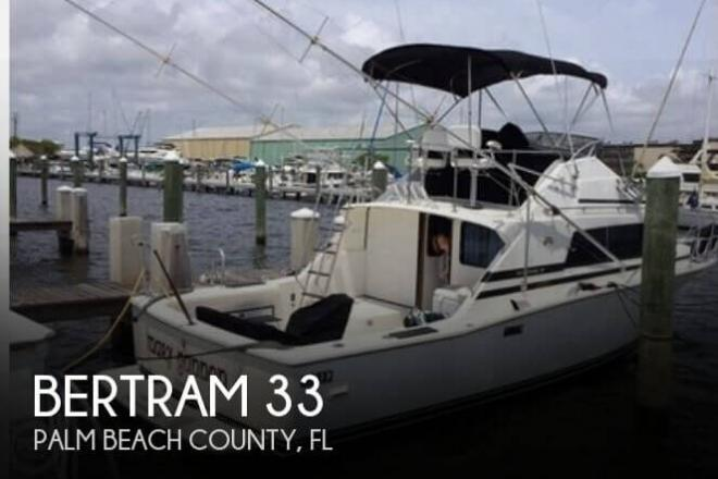 1987 Bertram 33 - For Sale at Lantana, FL 33462 - ID 93818